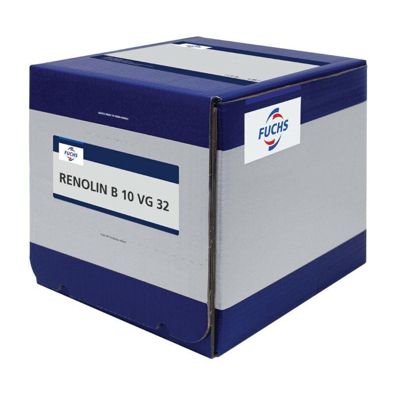 Image of Fuchs Renolin B10 VG32 Hydraulic Oil Lube Cube 20LTR