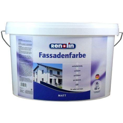 Renolin Fassadenfarbe Weiß 10 L13391122_110