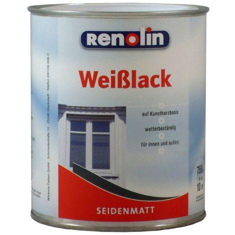 Renolin Weißlack seidenmatt Weiß 0,75 L11092101_050