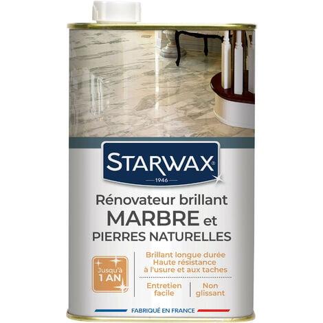 Rénovateur brillant protecteur pour marbres et pierres naturelles 1L STARWAX