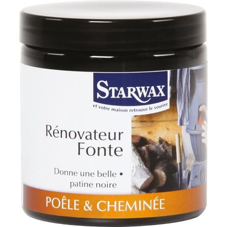 Rénovateur Fonte noir - Spécial Cheminée - 200 ml STARWAX - B012019