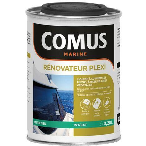 RENOVATEUR PLEXI 200ML - Liquide à lustrer les plexi à base de cires végétales - COMUS MARINE