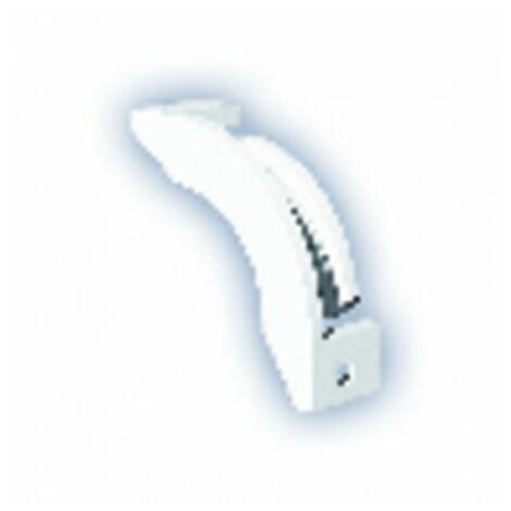 Renvoi d'angle pour bouches à cordon en plafond - ANJOS : 1791