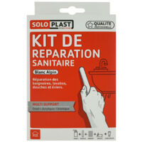 Repair kit ceramic Alpine White acrylic email Soloplast
