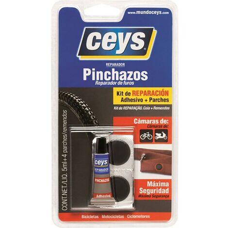 Reparador Coche Pinchazos Con Parches 5 Ml Ceys