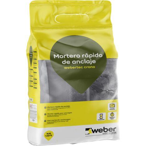Reparador rápido para anclajes comprometidos - webertec crono 5kg