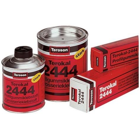 Réparation carrosserie - Collage : adhésif base caoutchouc pour le collage des matériaux poreux. - TEROKAL 2444 - 670g (Par 12)