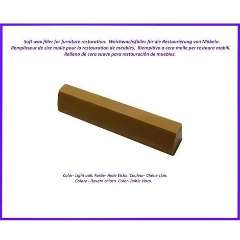 Reparatur Wachs zur von Holz- und Laminatböden, zur Möbelreparatur. Farbe -helle Eiche