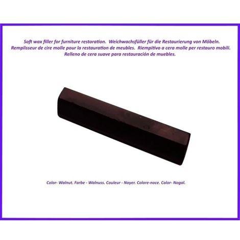 Reparatur Wachs zur von Holz- und Laminatböden, zur Möbelreparatur. Farbe -Walnuss