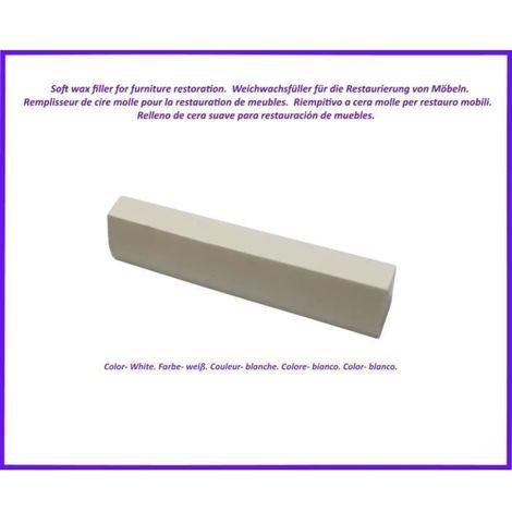 Reparatur Wachs zur von Holz- und Laminatböden, zur Möbelreparatur. Farbe -WeiÃ