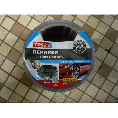 Réparer Adhésif 1001 Usages 10mx50mm Gris - Goulotte de 12rlx