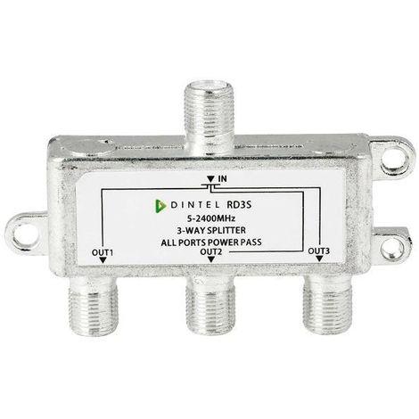 Repartidor 5-2400MHz F 3 salidas Dintel
