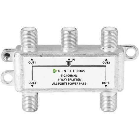 Repartidor 5-2400MHz F 4 salidas Dintel