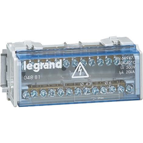 "main image of ""REPARTIDOR BIP. 40A 6 MOD. LEGRAND 004881"""