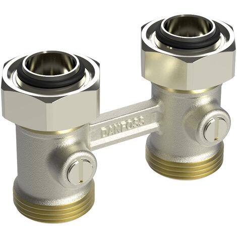 Répartiteur 3/4 bitube RLV-KB droit entr 50+1,5mm Mâle 3/4