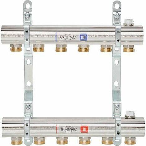 Repartiteur de chauffage WS type WS-M 1. 4 circuits