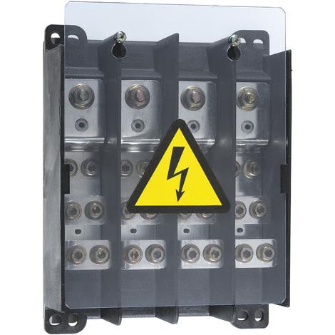 Répartiteur de puissance extra-plat pour cosses - 250 A