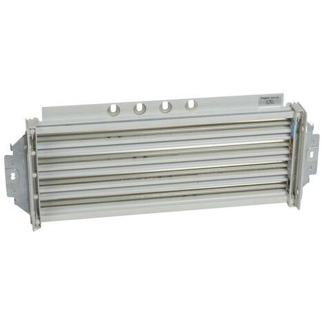 Répartiteur de rangée 250A HX avec connexion directe sur jeu de barres 250A ou 400A VX en fond d'armoire 24 modules (404480)
