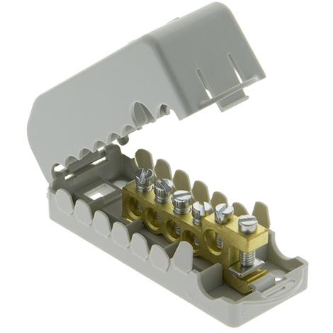 Répartiteur de terre 25mm²-35mm² - Onelec