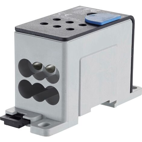 Répartiteur FTG Friedrich Göhringer 38682C 5681 aluminium gris 50 mm² 1000 V Type de conducteur = L, N, PE 1 pc(s) S055421