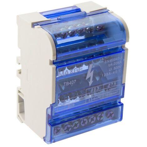 Répartiteur modulaire MAXGE 4P  88x65x51 mm -  88x65x51 mm4