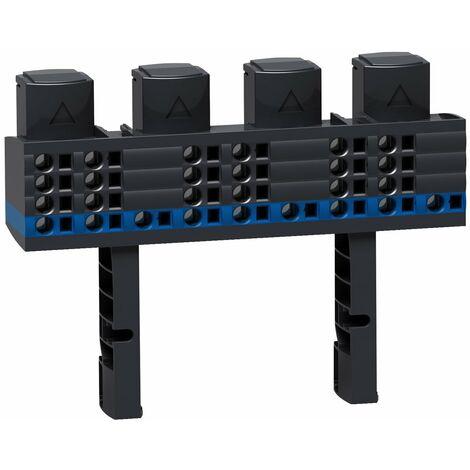Répartiteur Multiclip 4P 160 A 1/2 rangée - 04018