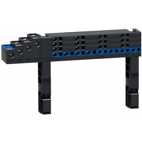 Répartiteur Multiclip 4P 63 A 1/2 rangée - 04008