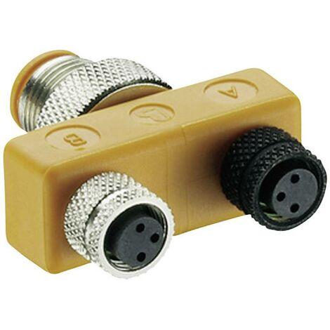 Répartiteur passif connecteur en T ASBS Lumberg Automation ASBS 2 M8 11124 1 pc(s)