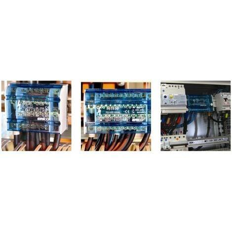répartiteur tétrapolaire 100-125 A - 10 Connexions