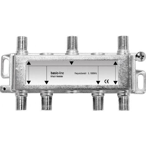 Répartiteur TV câble Renkforce 6 voies 5 - 1006 MHz Y033161