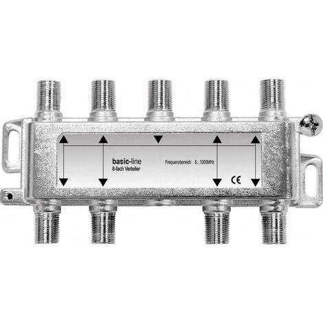 Répartiteur TV câble Renkforce 8 voies 5 - 1006 MHz
