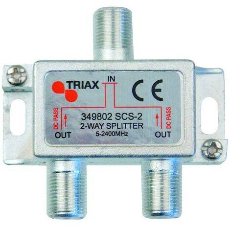 Répartiteur ULB 2 Directions Triax SCS-2 - Gris