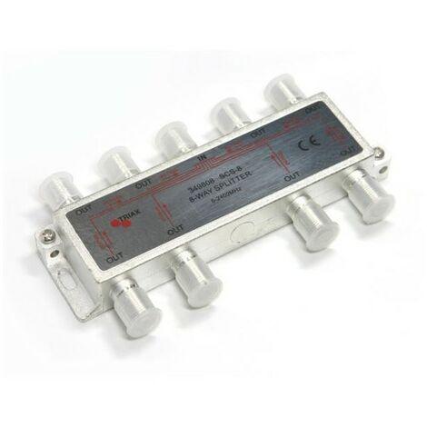 Répartiteur ULB 8 Directions Triax SCS-8 - Gris