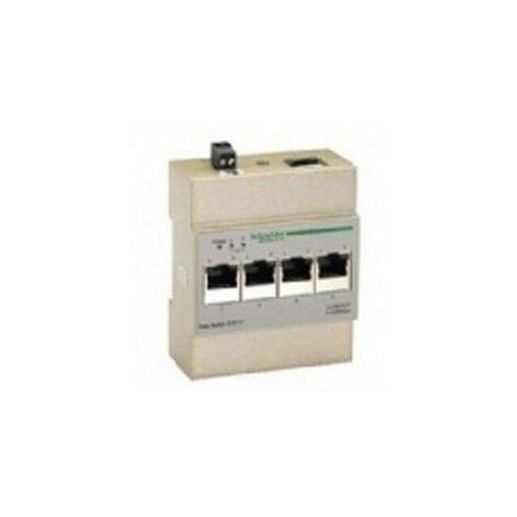 Répartition de l'informatique - switch pour Coffret de communication Grade 3 à composer - 10/100 Mbits/s