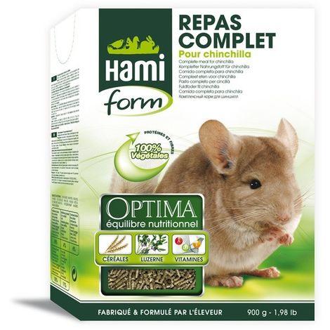 Repas complet pour Chinchilla 900g HamiForm