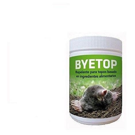 Repelente BYETOP para Eliminar Topos en Jardines y Campo - 80g