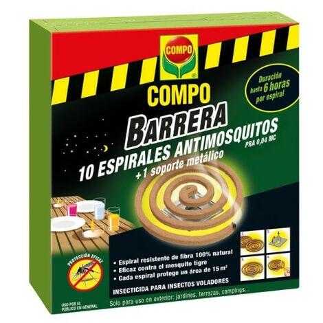 Repelente mosquitos espiral compo citronella 2195202011 10 p