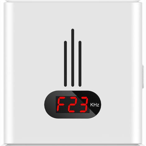 Repelente ultrasonico de ratones mosquitos, con luz nocturna, AC110 ~ 240V, blanco