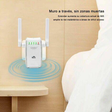 Repetidor de Wifi inalámbrico Extrastar 300Mbps Dual Banda