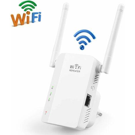 Repetidor WLAN Amplificador de señal WLAN multifunción de 300 Mbps, punto de acceso inalámbrico de 2,4 GHz con función WPS Cumple con IEEE802.11n / g / b