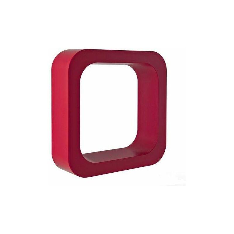 Repisa para objetos en forma de letra O Damast Lettering   Cereza