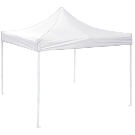 Replacement canvas 3x3m 3 levels white reception tent roof 3 levels garden awning WASHING - Blanc