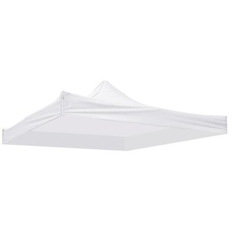 Replacement canvas 3x3m 3 tier white tent roof reception 3 tier garden awning Mohoo