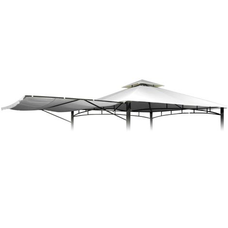 Replacement Gazebo Canopy 3.3x3.3m Waterproof Higher Density ANTIGUA