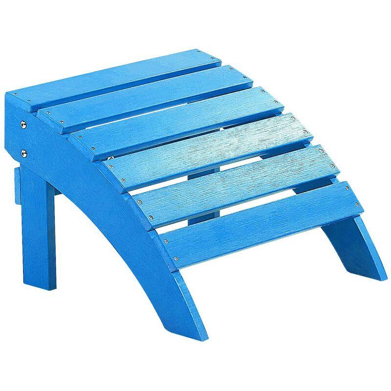 Repose-pied bleu ADIRONDACK