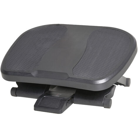 """main image of """"Repose-pied ergonomique de bureau hauteur et inclinaison réglables 45L x 34l cm gris"""""""