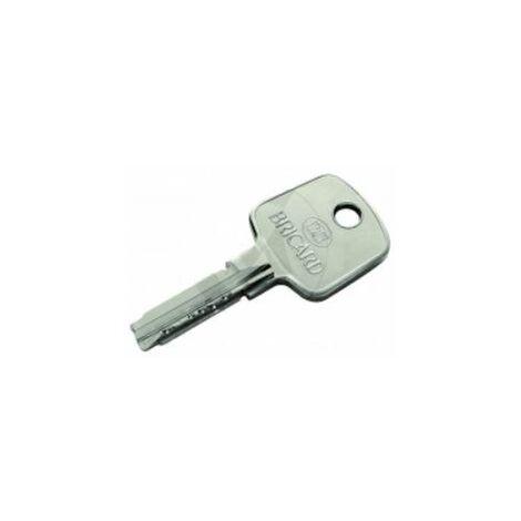 Reproduction de clé modèle ASTRAL, marque BRICARD. - BRICL002.