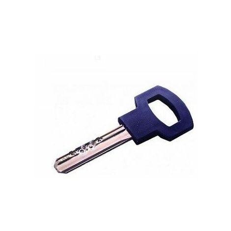 Reproduction de clé modèle Gamma Plus ACIER à mobile, marque CARMINE. - CARCL018.