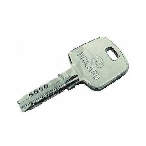 Reproduction de clé modèle Transal ER, marque BRICARD. - BRICL010.