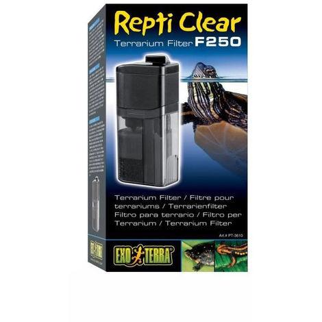 REPTI CLEAR 250 filtre debit 240 l/h